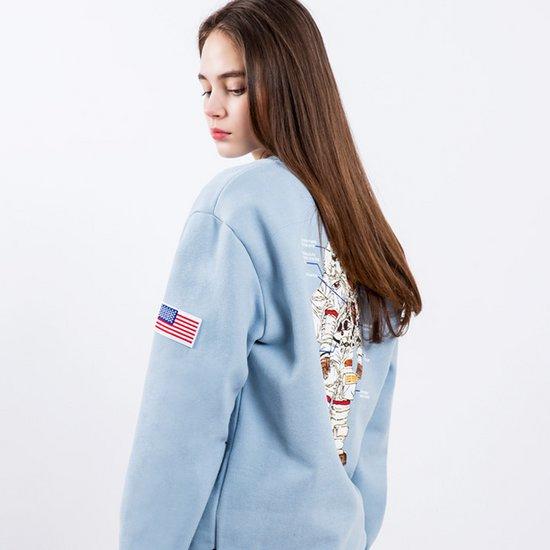 플루크 우주인 맨투맨티셔츠 FMT018S373