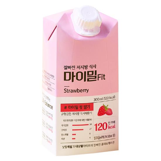 마이밀 핏 딸기 300ml