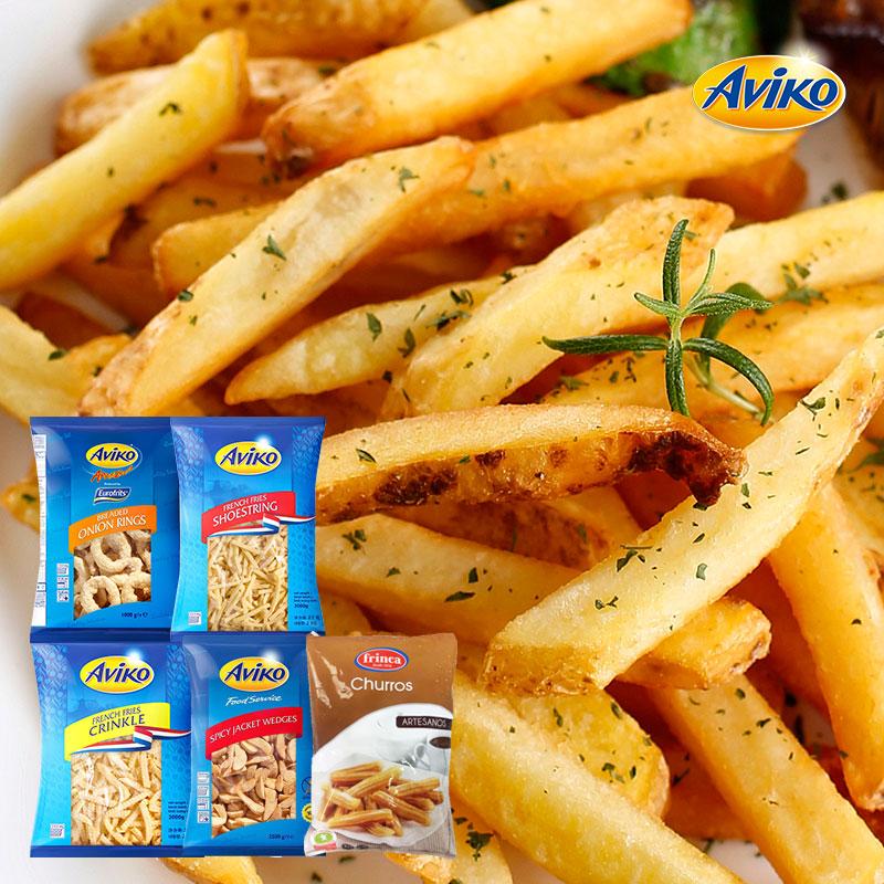 [아비코] 유럽 오리지널 감자튀김 2kg 대용량 특가구성