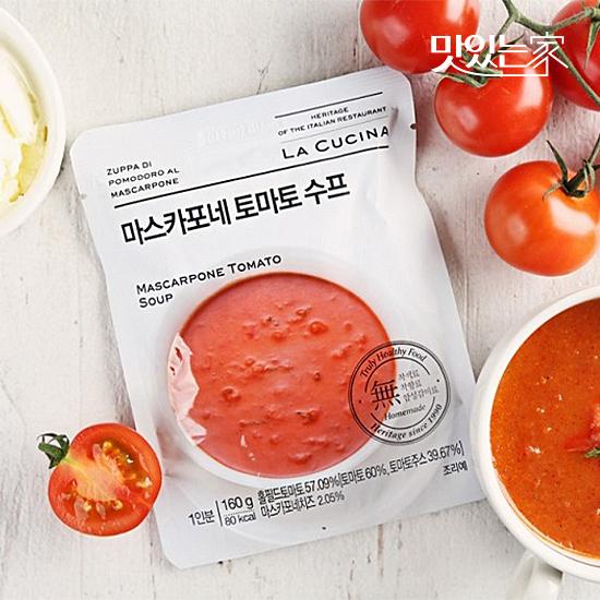 [맛있는家] 라쿠치나 마스카포네 토마토 스프 160g
