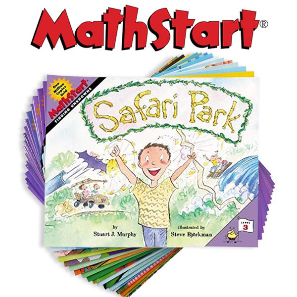 [영어원서] [MathStart Level 3] 리더스북 19종 세트 매쓰스타트 3단계