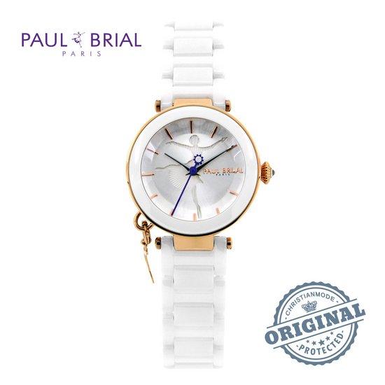 폴브리알PAUL BRIAL 여성시계PB8027RGS/가죽/백화점AS