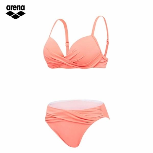 [하프클럽/아레나]아레나 여성 비치 2PCS 수영복 AVBPS04 ORG