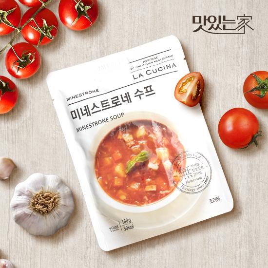 [맛있는家] 라쿠치나 미네스트로네 스프 160g