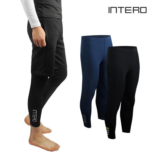 인테로 남성 수영복 워터레깅스/남자 레깅스바지/삼공오공