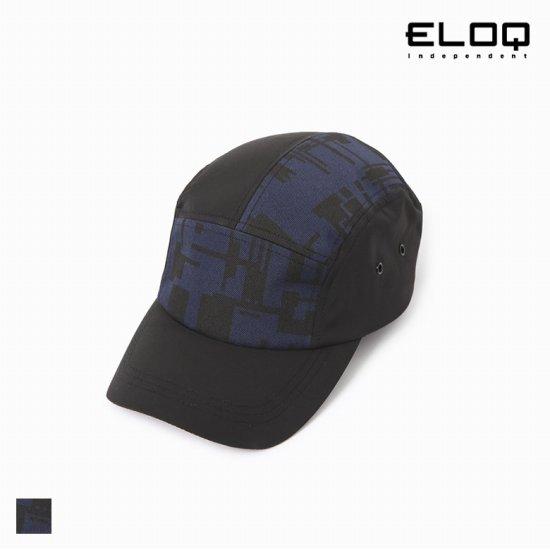 [ELOQ]공용 메이즈 패턴 캠프캡B174MCP103U
