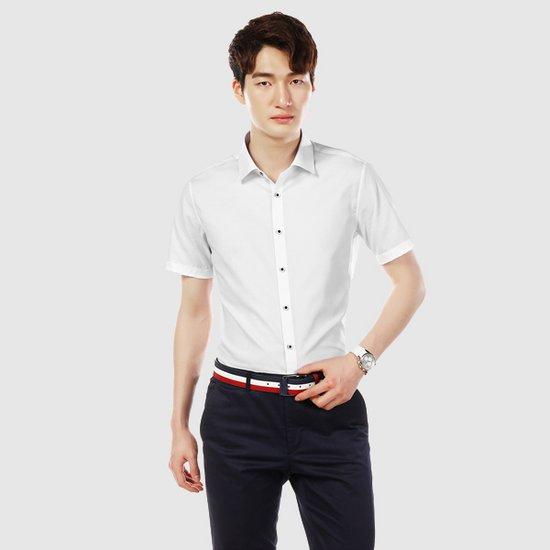 [질바이셔츠] 솔리드 슬림핏 셔츠 JBES2FSS303A1
