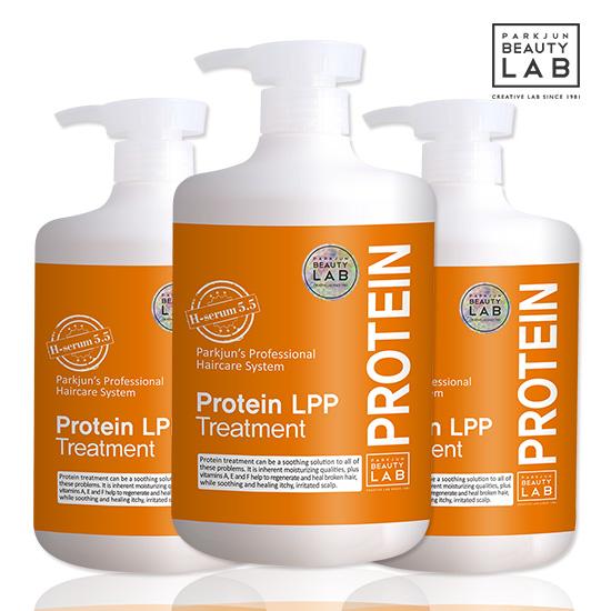 [박준뷰티랩] LPP 단백질 트리트먼트 헤어팩 1000ml x3개