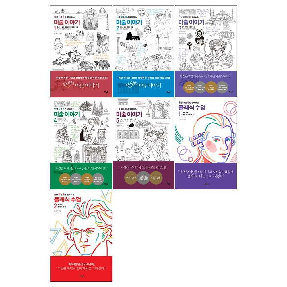 [문화상품 5천원/사회평론]난생처음한번 공부하는 미술이야기 1-