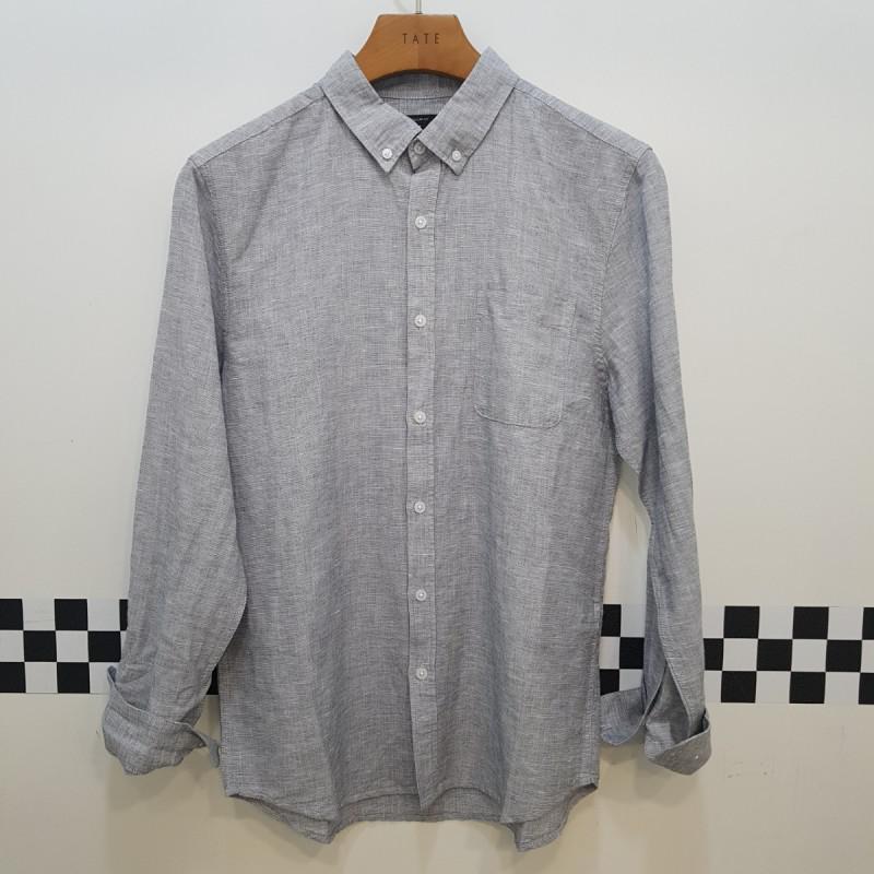 [하프클럽/테이트]테이트 남성 레귤러핏  린넨 셔츠-5컬러 Ka9..
