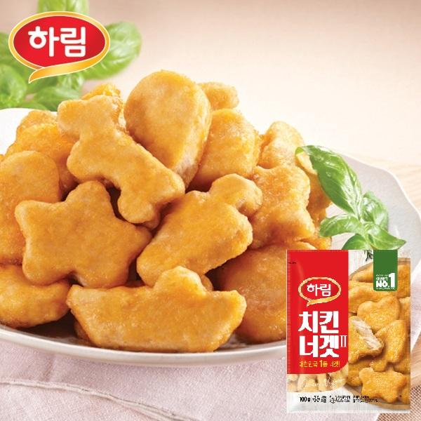 하림 치킨너겟/팝콘치킨/치킨4종+윙/봉