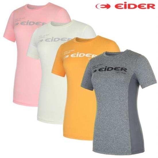 아이더 로고 라운드 여성 티셔츠 I-DWS16218