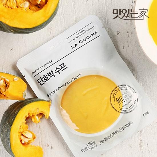 [맛있는家] 라쿠치나 단호박 스프 160g