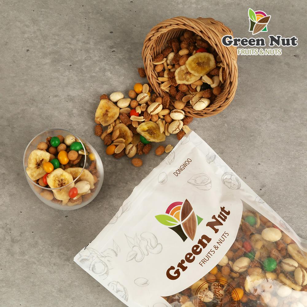 [그린너트] 알뜰믹스넛 1kg / 대용량 견과믹스넛