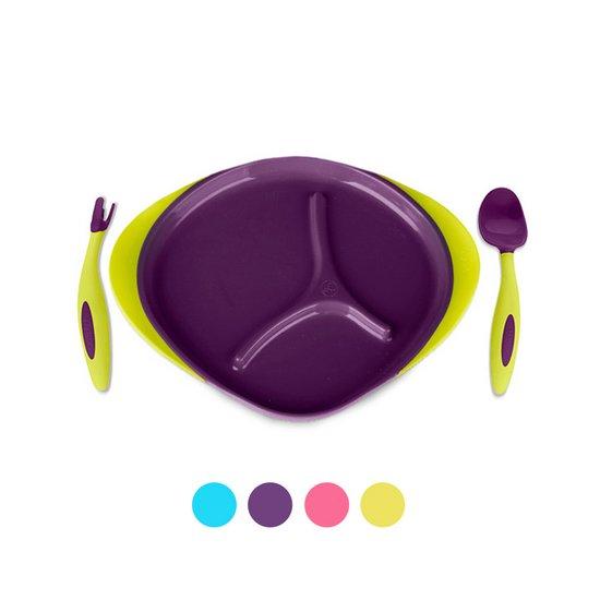 [비박스]이유식 식판+스푼포크 세트 색상선택
