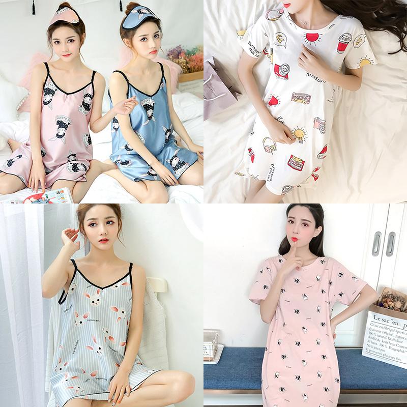 [민트코코아] 여름 여성원피스잠옷 파자마 홈웨어 6종택1