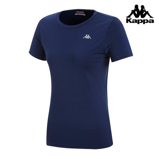 [카파] 여성 가슴로고 기본 기능성 반팔 티셔츠_KIRS261FM