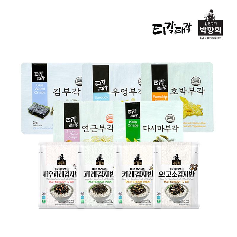 [티각태각X박향희 김] 부각/김자반 1봉만사도 무배 골라담기