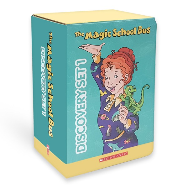 [영어원서] The Magic School Bus Discovery Set 1 Paperback 10권 & CD 10장