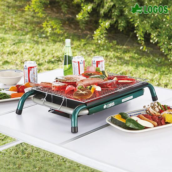로고스 에코 세라 테이블 바비큐 그릴 S 81063940 휴대용 BBQ 화로대 캠핑용품