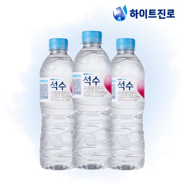 하이트진로 석수 500ml x 40병 생수/무료배송