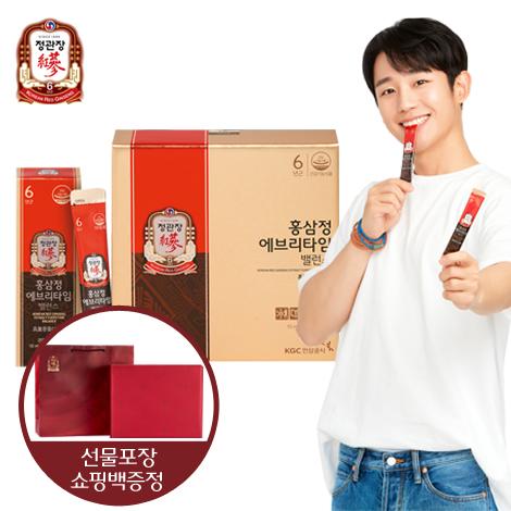 [추석/빠른배송][정관장]홍삼정에브리타임밸런스 1박스+선물포장