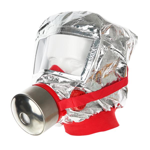 학교 사무실 가정용 화재 대비 소방 대피용 방독면 방연 마스크 JI-119
