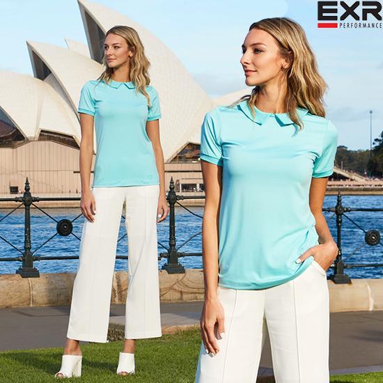 [EXR] 여성 싱글 카라 티셔츠 민트