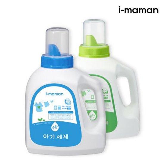 아이마망 대용량 아기세제2.4L + 섬유유연제 2.4L