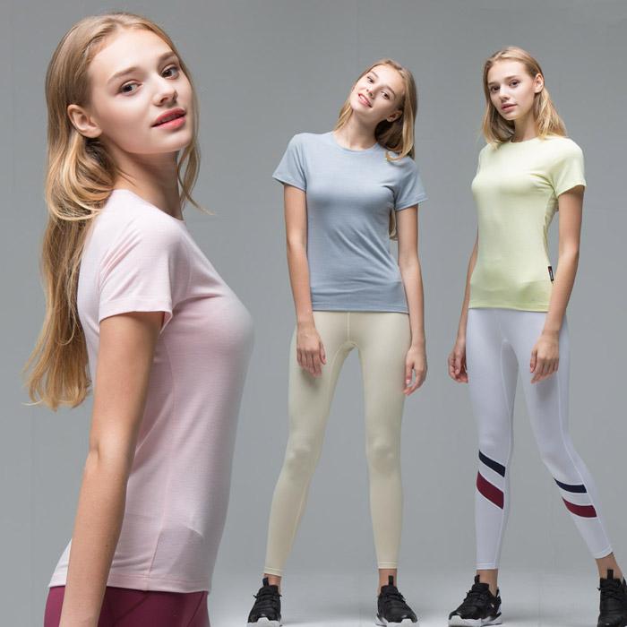 백화점 입점 브랜드 애슬리트 여성 고기능성T셔츠 바름 반팔티최고급 기능성 원단만 사용하여 국내제조