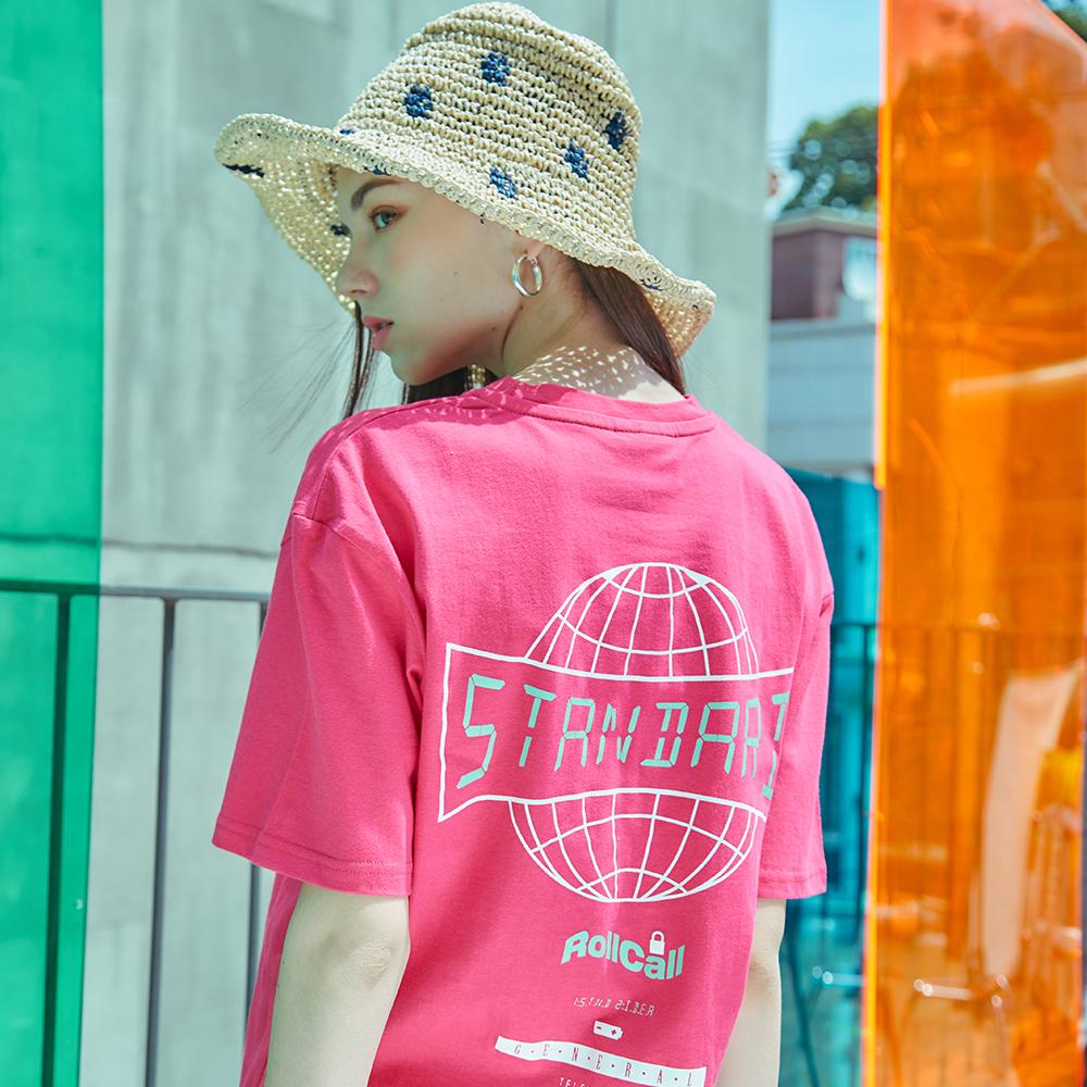 [제너럴아이디어19SS썸머]백포인트 오버핏 티셔츠S9D05016PI