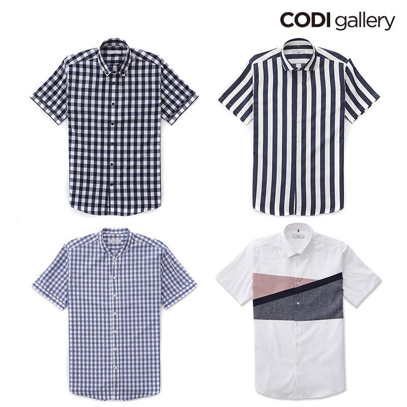 by STCO 남성 여름 트렌디 패턴 반팔 셔츠 택1