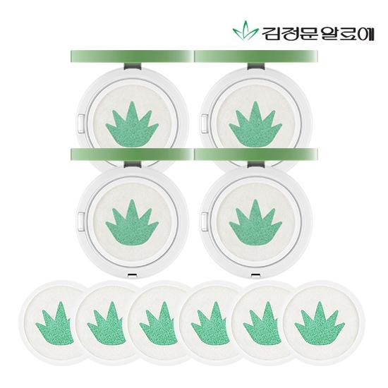 썬쿠션만 10개용량] 김정문알로에 生알로에 썬쿠션 패밀리 구성