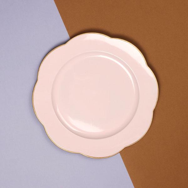 NH 베르사유 디너접시 핑크
