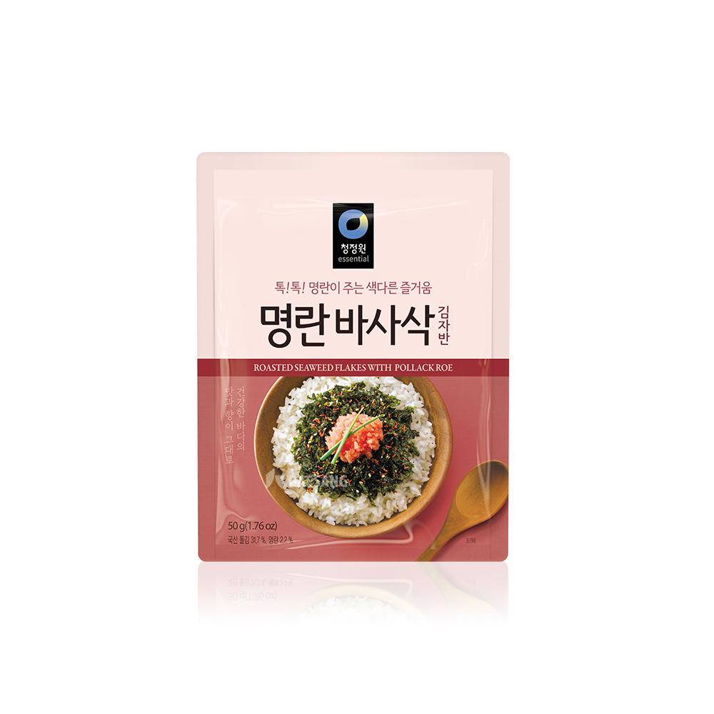 청정원 명란맛 바사삭김 김자반50g