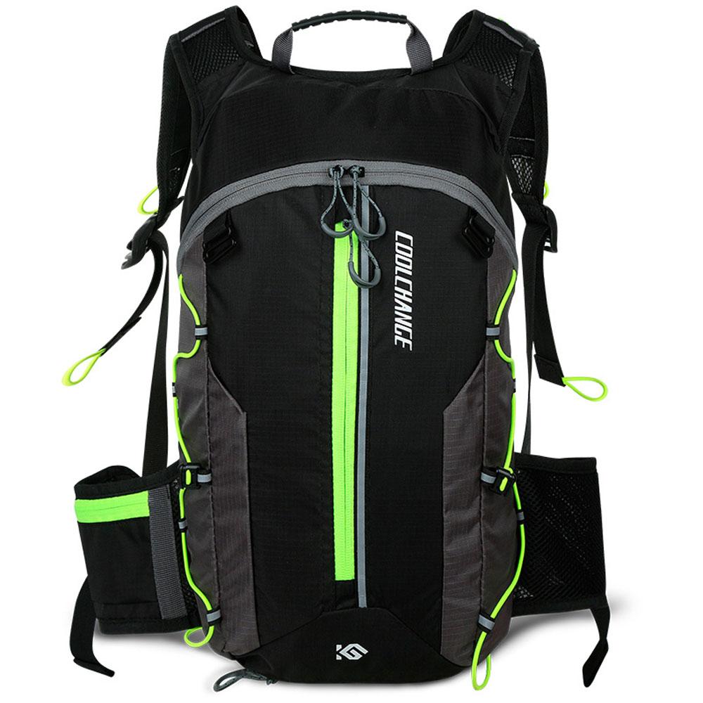CoolChange 초경량 10리터 첨단 자전거배낭/Green