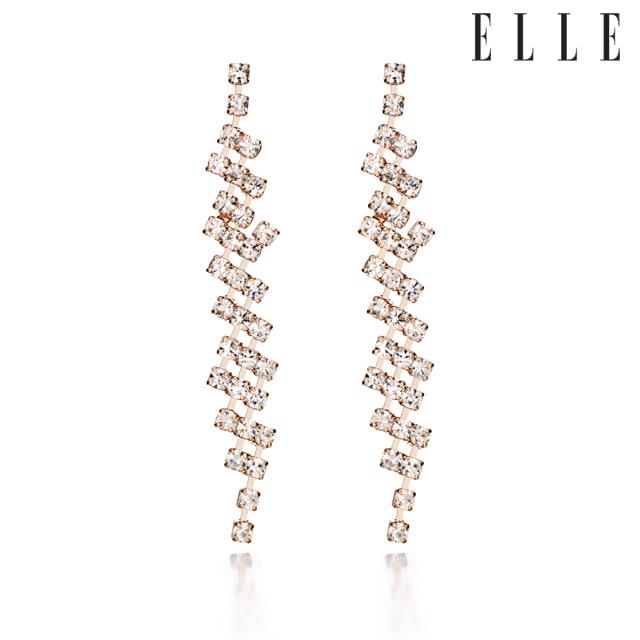 [엘르주얼리] 14K 여성용 파티 귀걸이 gold pin ELGPEE188