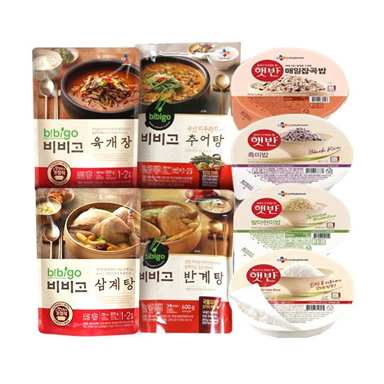 [99특가][3만무배] 햇반/컵반/비비고탕 골라담기~
