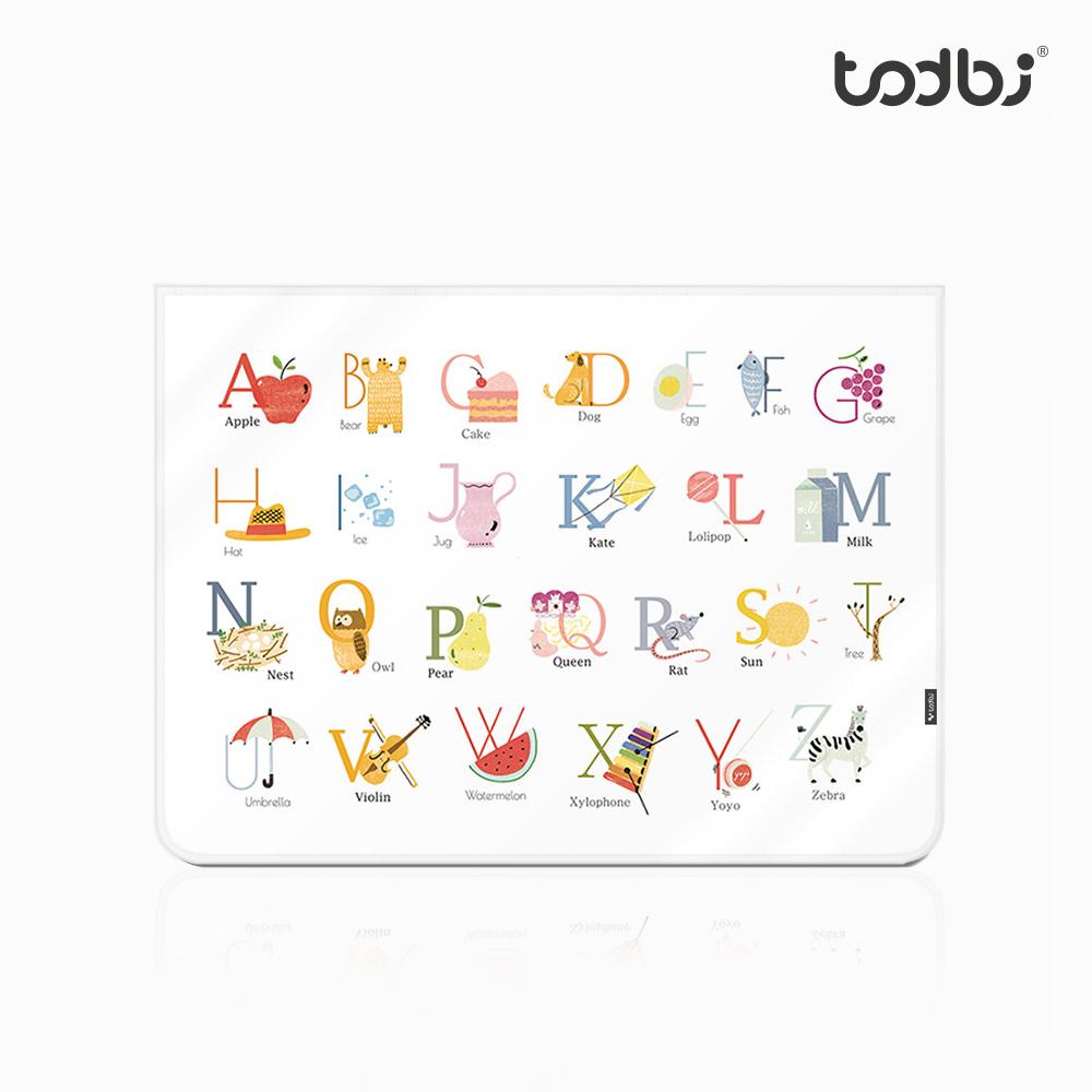 [토드비] 자석형 차량용 햇빛가리개 알파벳