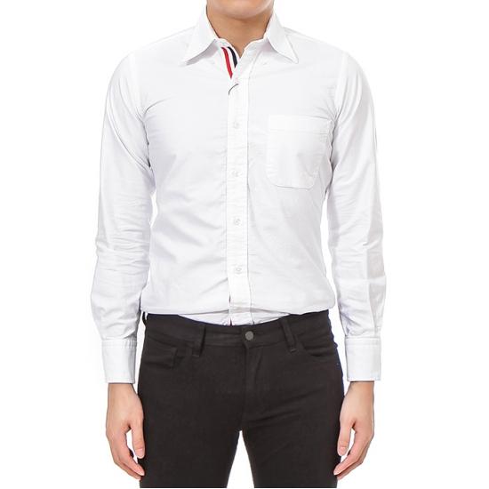 톰브라운  MWL010E00139 100 남성 삼선 셔츠 19FW