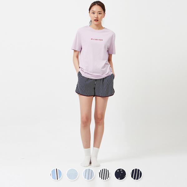 [지오다노] 558503 여 레이온 쇼츠