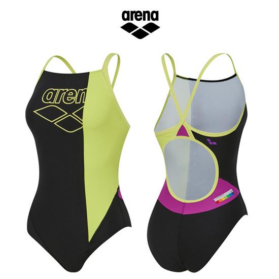 아레나수영복  AVSCO01BLK 여성 선수 원피스 수영복