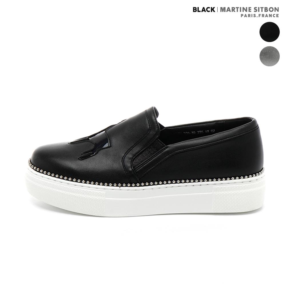 [블랙마틴싯봉]비드 슬립온GEZH308