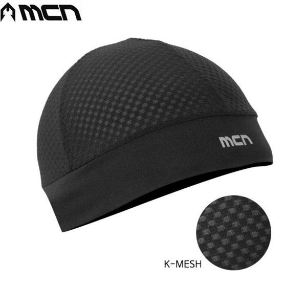 MCN K-매쉬 스컬캡-블랙  헬맷속땀흡수/자전거모자