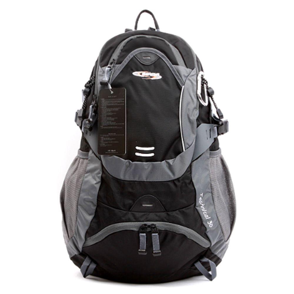 넉넉한 등산 검정 가방 트래킹 등산 여행 배낭 30L
