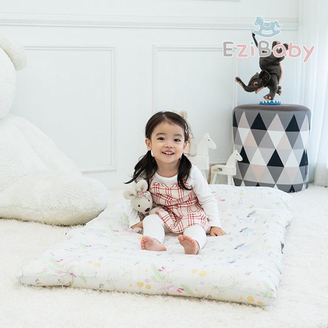 이지베이비 도톰한 어린이집 낮잠이불 요토퍼 패드 매트 세트 마이크로화이바베개솜