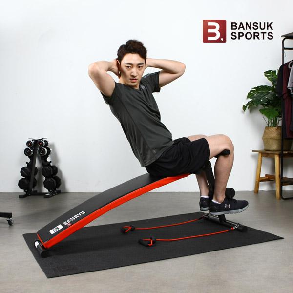 [반석스포츠] 블랙로즈싯업/복근운동기구/윗몸일으키기/싯업/헬스기구/