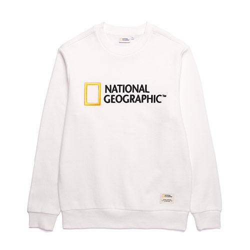내셔널지오그래픽 N193USW920 폴하스 빅로고 맨투맨 티셔츠 약