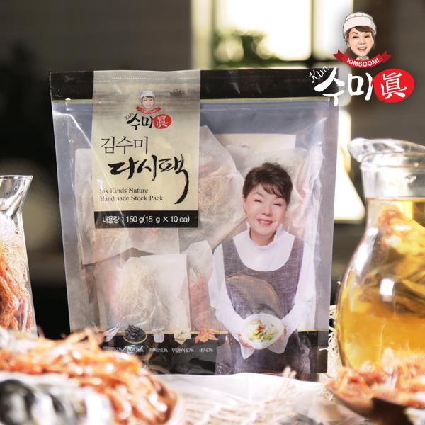 [수미진] 김수미의 국물요리 비법 다시팩 10팩x8봉 총 80팩