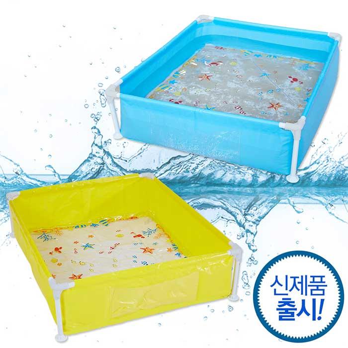 [무배]버키 유아용 사각 프레임 키즈 풀장 사각풀/실내풀장/유아